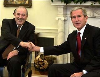 Allawi And Bush