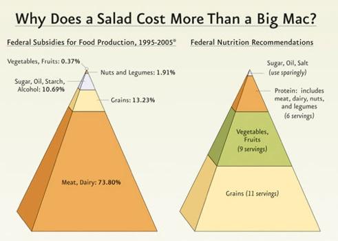 Food Subs Pyramid